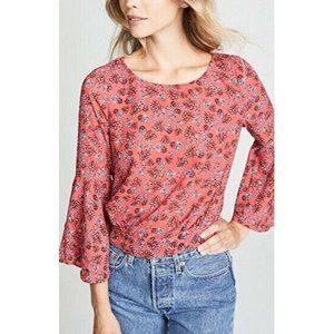 JACK BB DAKOTA Crystal Vision Bell Sleeve Top
